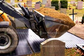 cemetary groundworks 2